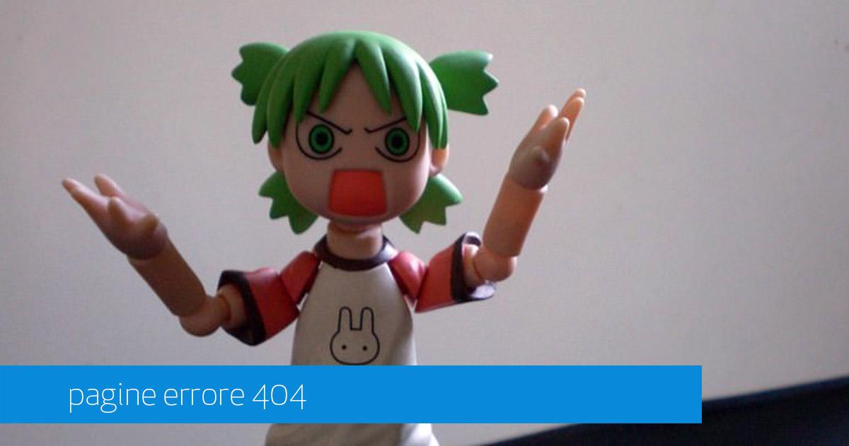 gestione pagine errore 404