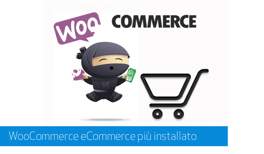WooCommerce l'e-Commerce più Installato