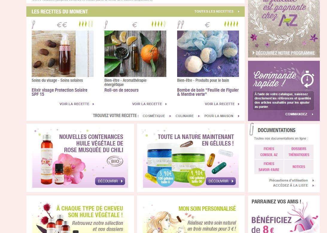 aroma-zone box ricette e blog