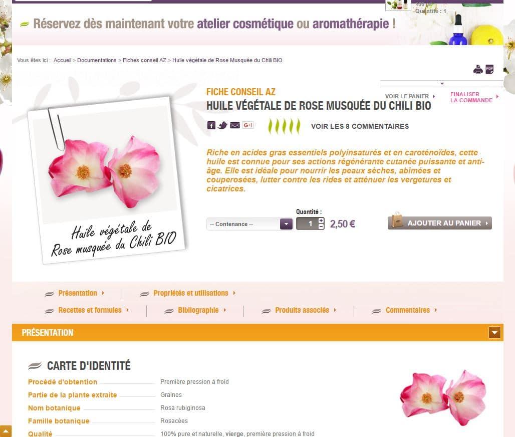 aroma-zone pagina scheda prodotto