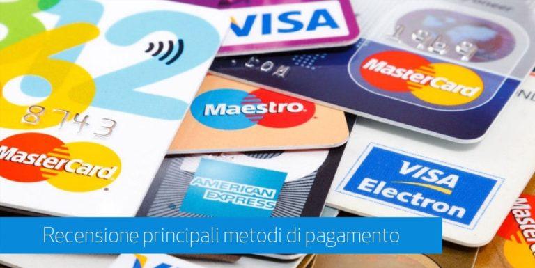 Metodi e Sistemi di pagamento per eCommerce