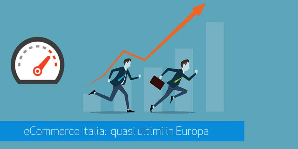 ecommerce: italia fanalino europeo