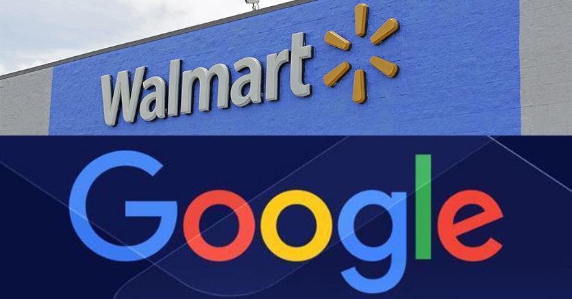 accordo google walmart