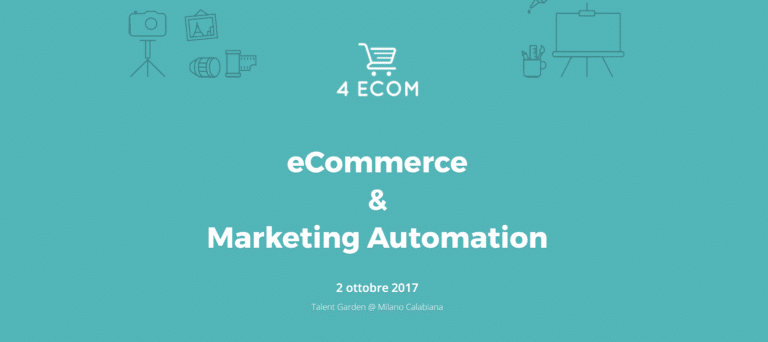 eCommerce e Marketing automation