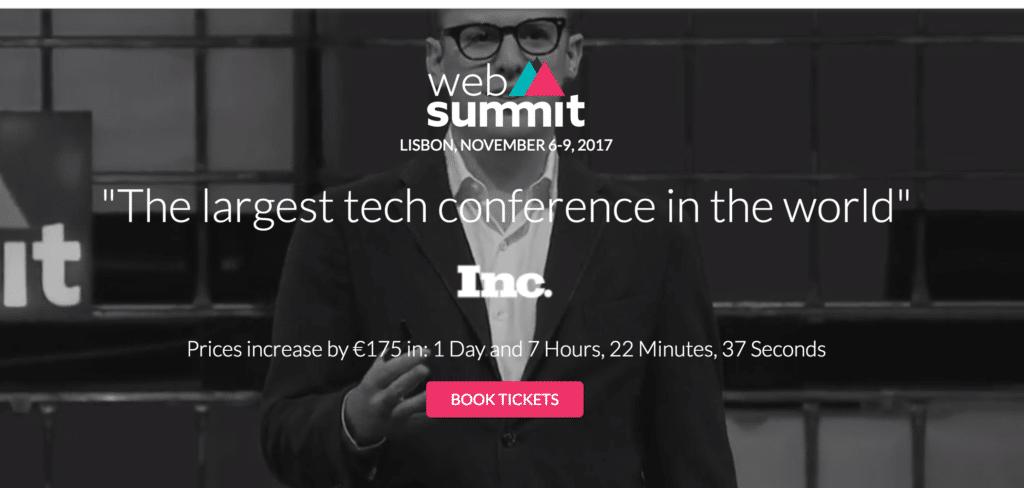 web summit lisbona