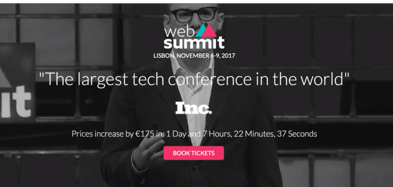web summit lisbona