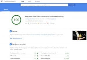 analisi ecommerce google speed