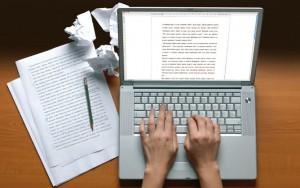 scrivi un blog